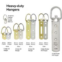 Super Heavy Duty Hanger - 4 Hole Nickel Plated